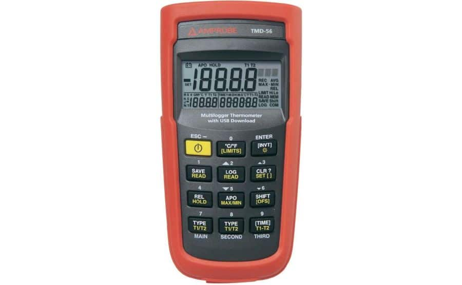 Termómetro de termopares AMPROBE TMD-56