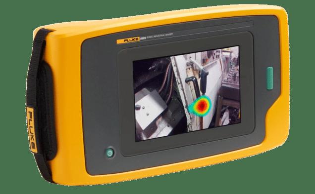 Cámara acústica para detección de fugas de aire comprimido y gases FLUKE ii900