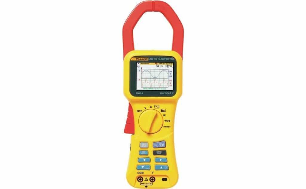 Analizador de calidad eléctrica FLUKE 345