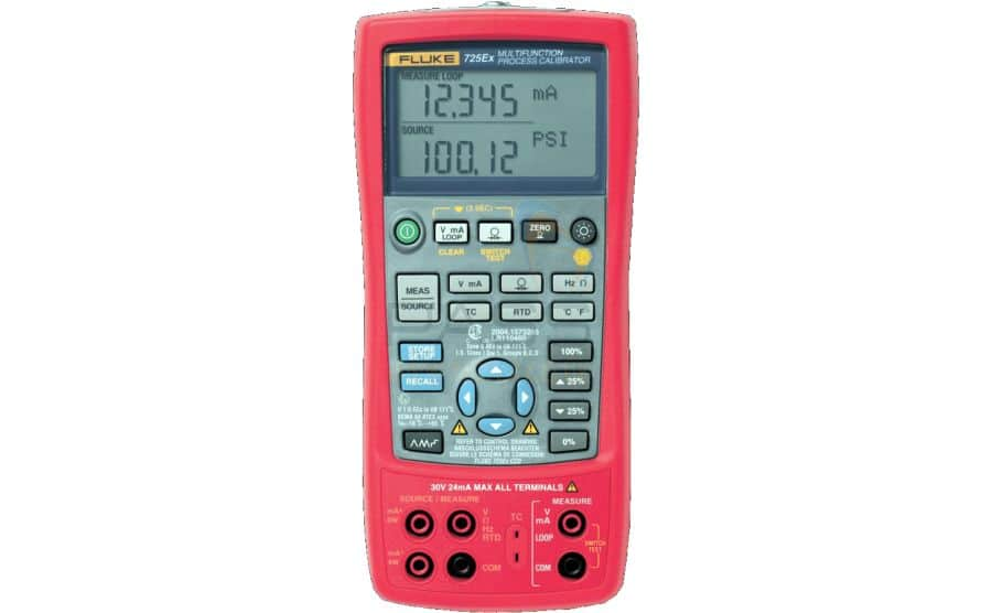 Calibrador de procesos ATEX FLUKE 725Ex