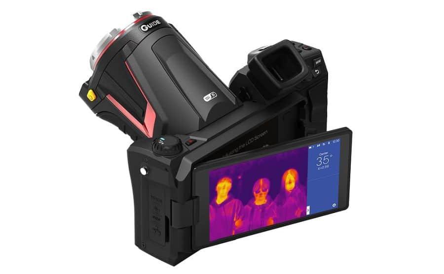 Cámara termográfica para detección de fiebre GUIDE C400M