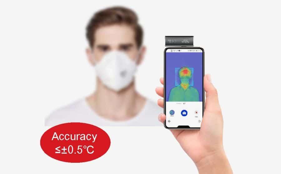 Escáner de fiebre GUIDE CB360