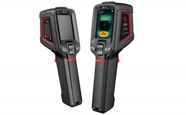 GUIDE T120H, cámara termográfica para detección de fiebre