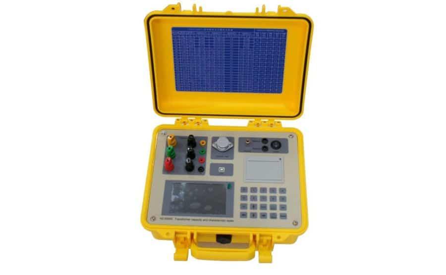 Medidor de capacidad y pérdidas en transformadores HZ-6300C