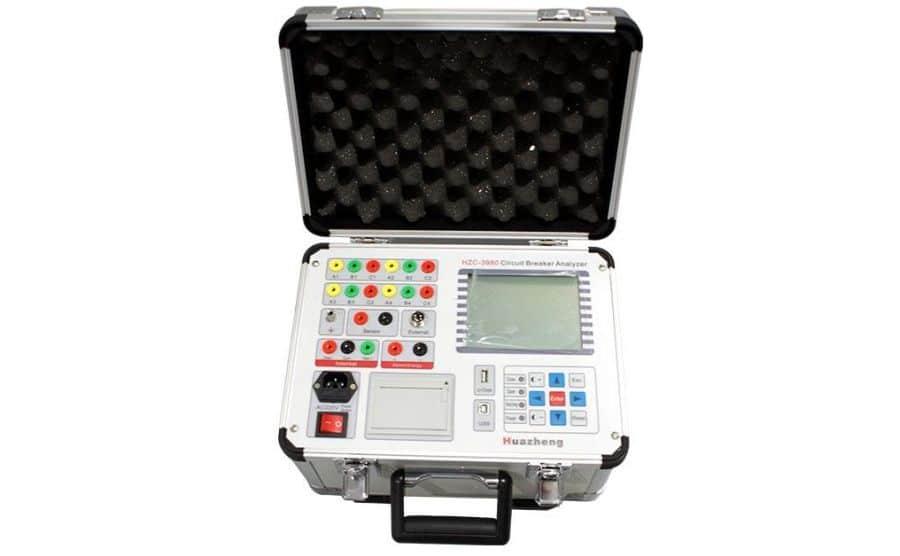 Analizador de disyuntores HV HZC-3980