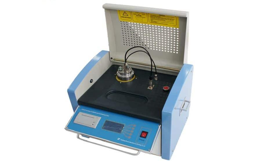 Tester de aislamiento, tangente de delta y resistividad de aceite HZJD-2Z