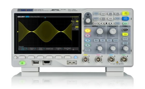 Osciloscopios SIGLENT SDS1204x-e