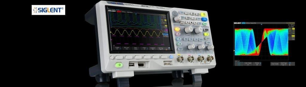 Nuevos osciloscopios SIGLENT SDS1000X-E
