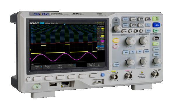 Osciloscopios SIGLENT SDS2000X-E
