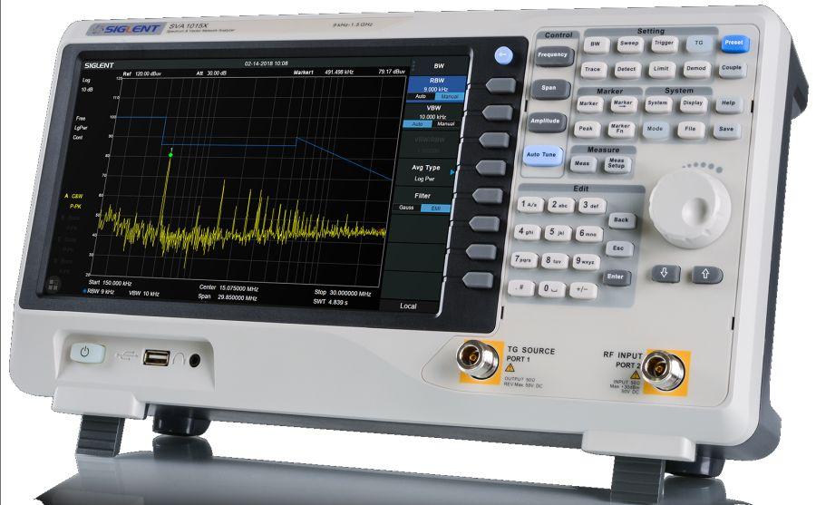 Analizador de espectros y de redes vectoriales SVA1000X