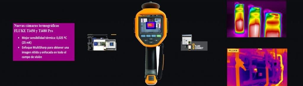 Nuevas cámaras termográficas FLUKE Ti450 Pro