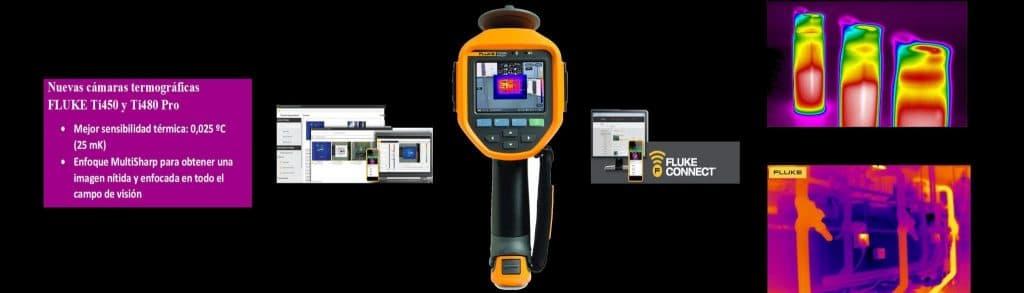 Cámaras termográficas FLUKE Ti450 pro