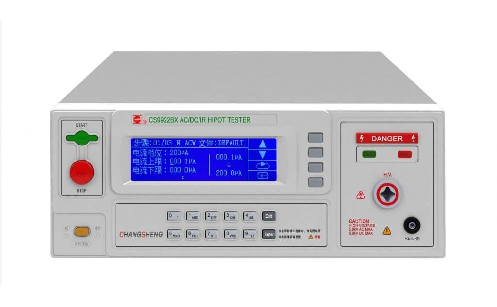 Medidor de rigidez dieléctrica y aislamiento ALLWIN CS9922X