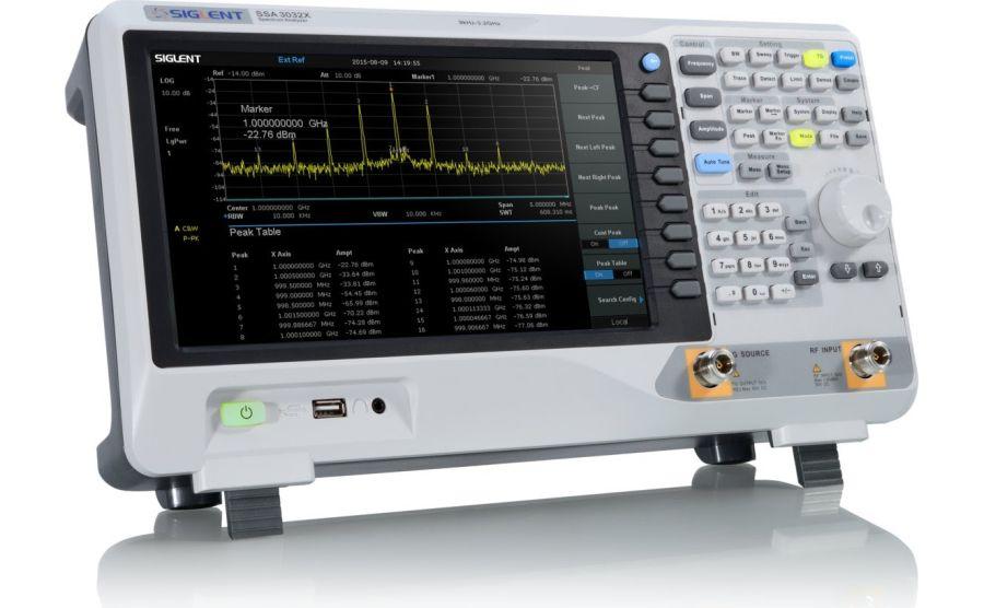 analizadores de espectros