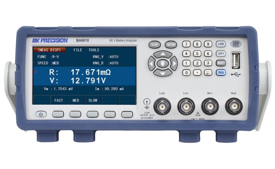 Analizadores de baterías BK BA6010 y BA6011