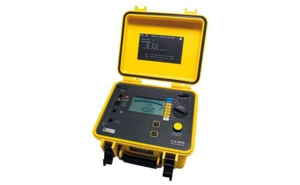 Medidor de aislamiento CHAUVIN ARNOUX CA6505