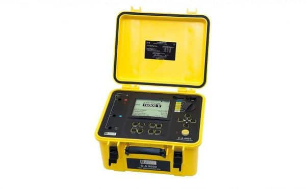Medidor de aislamiento CHAUVIN ARNOUX CA6550