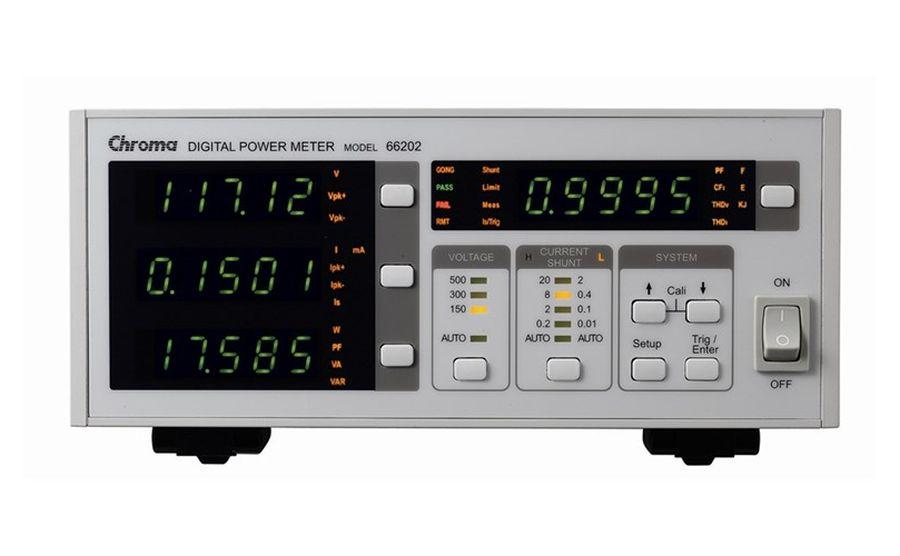 Analizador de potencia CHROMA 66202