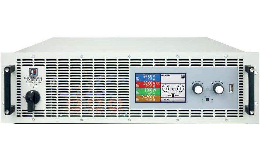 Cargas electrónicas regenerativas EA ELR9000 HP 3U