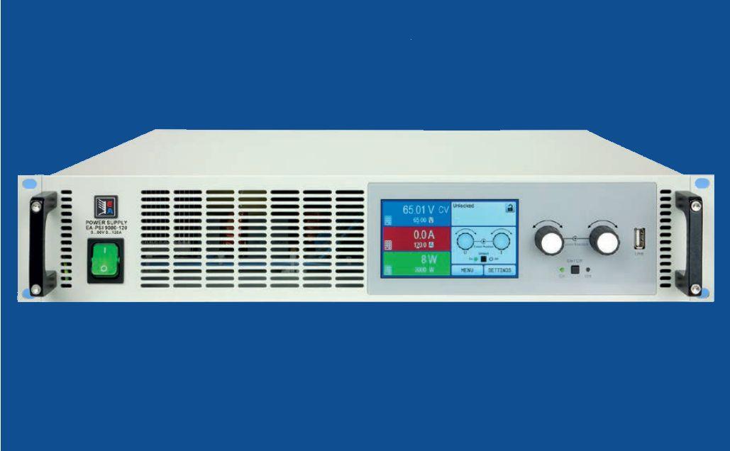 Fuentes de alimentación EA-PSI 9000 2U