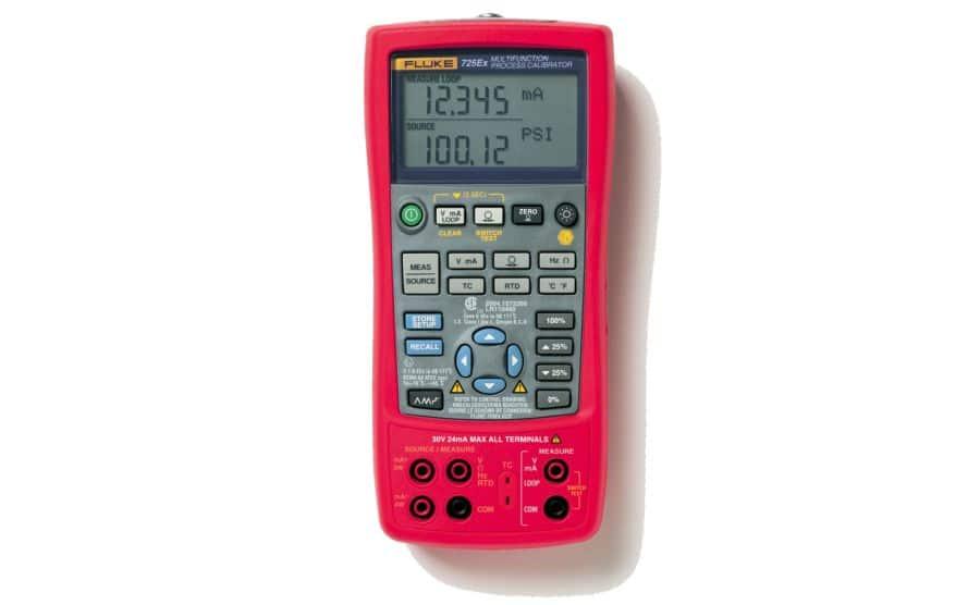 Calibrador de procesos categoría ATEX FLUKE 725Ex