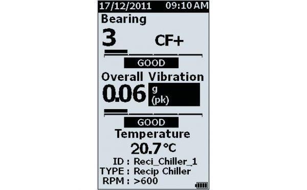 Analizador de vibraciones FLUKE 805FC