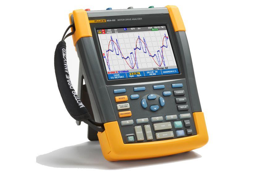 Nuevos analizadores de motores y variadores de frecuencia serie FLUKE MDA-500