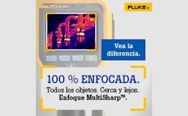 Cámara termográfica FLUKE Ti450-Ti480 con multiSharp