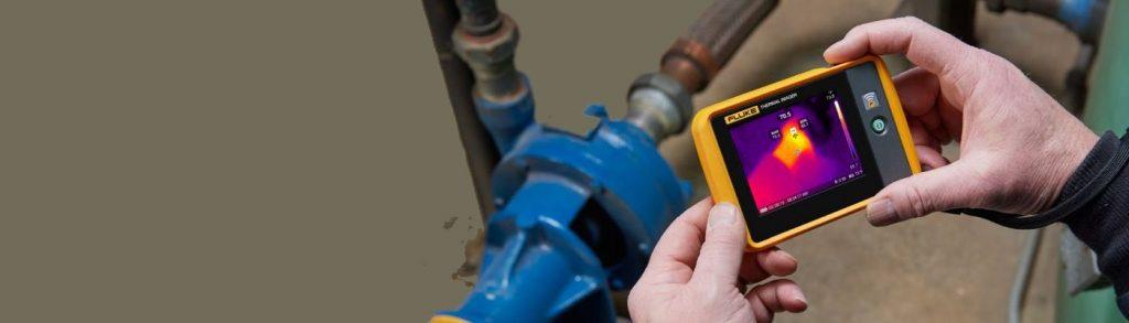 Nueva cámara termográfica de bolsillo FLUKE PTi120
