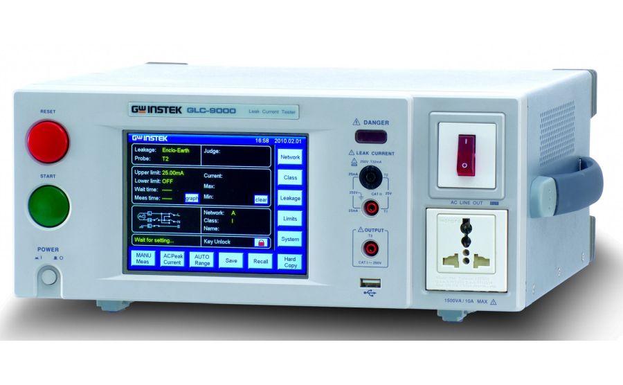 Medidor de corrientes de fuga GW-INSTEK GLC-9000