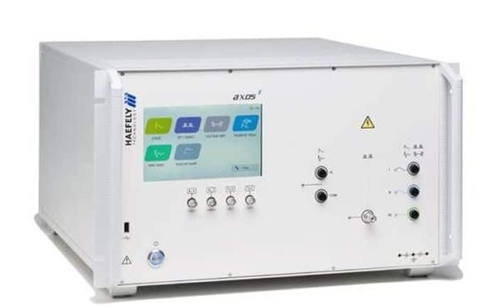 Equipo compacto de ensayos de EMC HAEFELY AXOS8