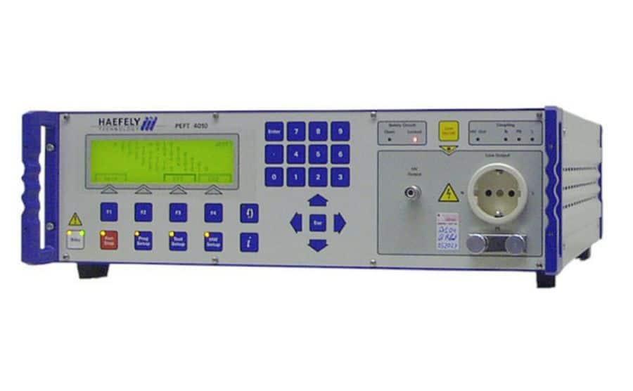 Generador de ráfagas HAEFELY PEFT8010
