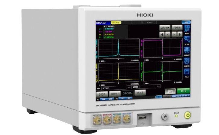 Analizadores de impedancias HIOKI IM3580 series