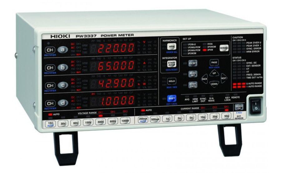 Vatímetro de precisión HIOKI PW3337