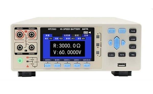 Analizadores de baterías HT3563