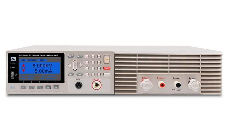 Analizador de seguridad eléctrica para instalaciones fotovoltaicas HOPETECH HT9980A series