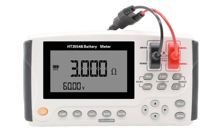 Analizador portátil de bateríaspio