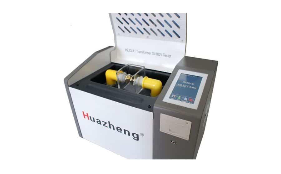 Medidor de rigidez dieléctrica en aceites HZJQ-X1