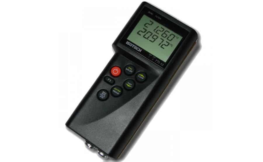 Termómetro portátil de calibración ISOTECH TTI-10