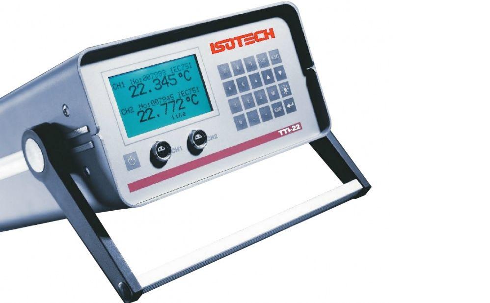 Termómetro de referencia ISOTECH TTI-22