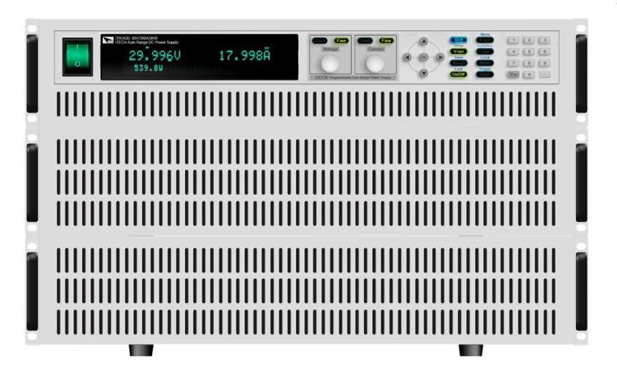 Fuentes de alimentación ITECH IT6500 series