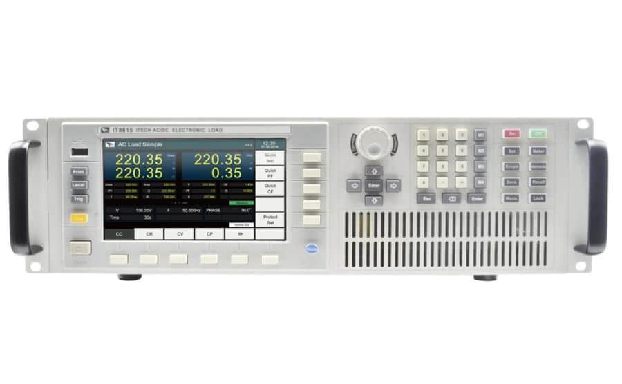 Cargas electrónicas de AC ITECH IT8615 series