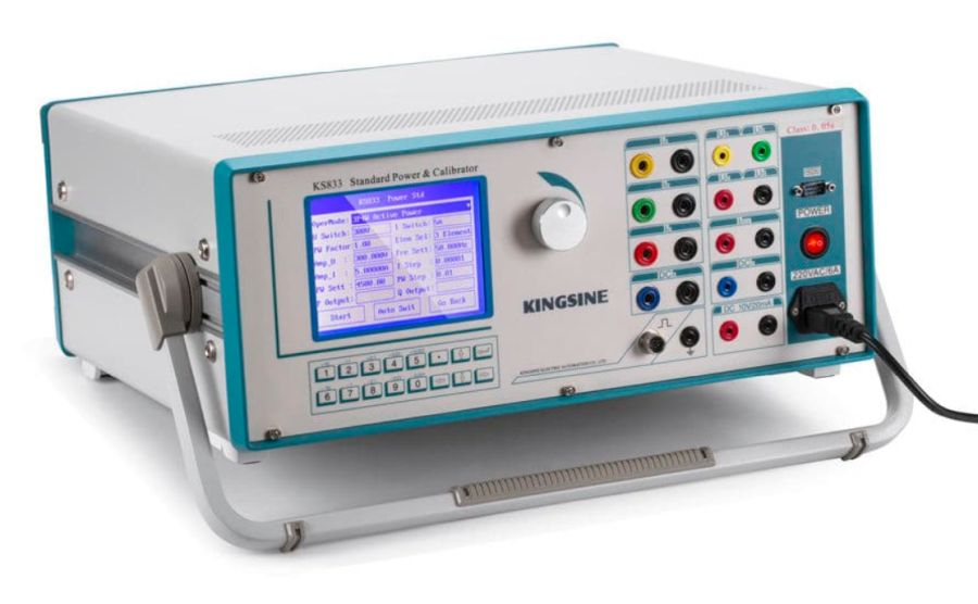 Calibrador y fuente estándar trifásica KINGSINE KS833