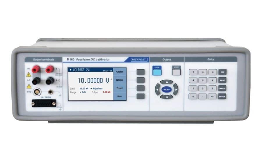 M160, calibrador de equipos de procesos