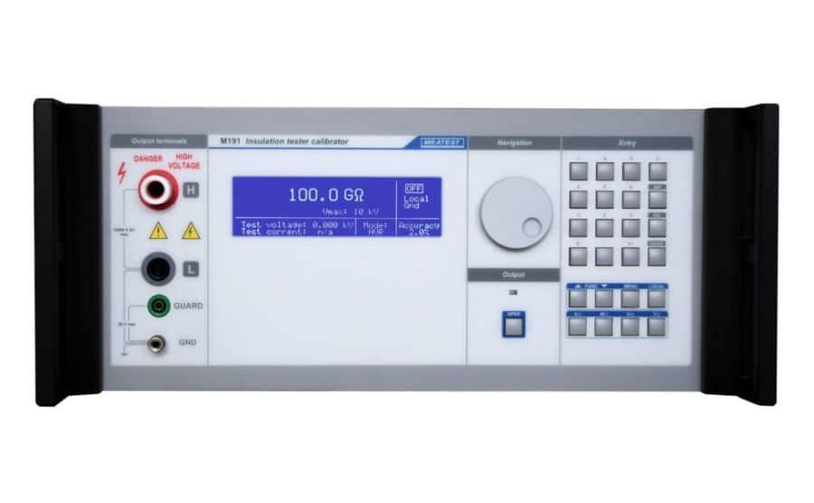 Calibrador de medidores de aislamiento M191
