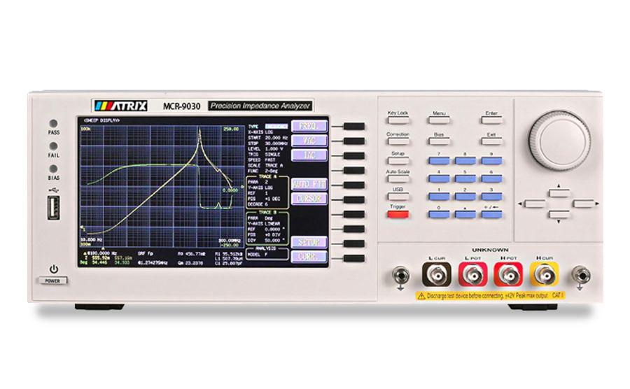 Analizadores de impedancias MATRIX MCR-9000 series