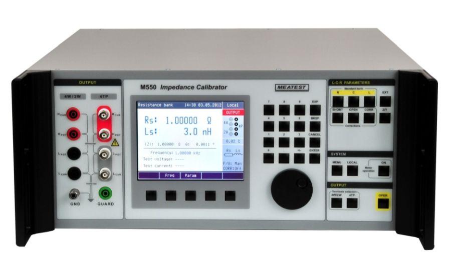 Calibrador de puentes RLC MEATEST M550