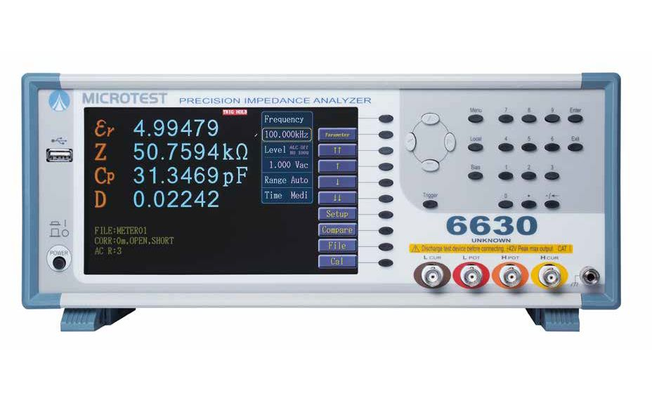 Puentes RLC MICROTEST 6630 series