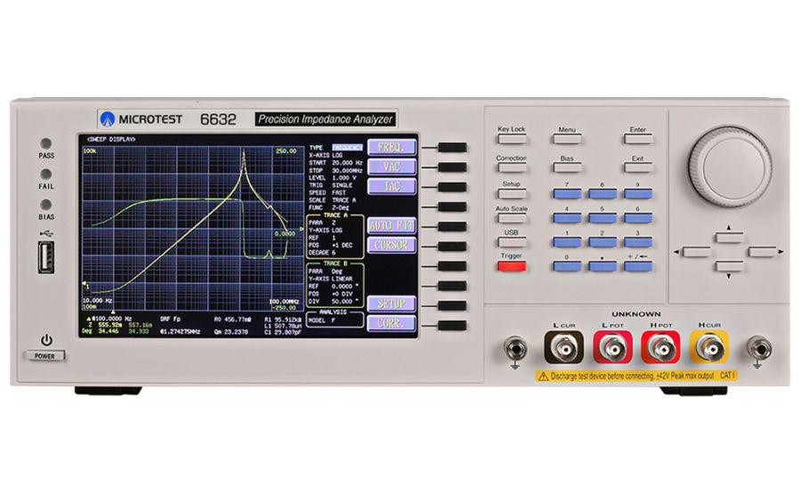 Analizadores de impedancias MICROTEST 6632 series