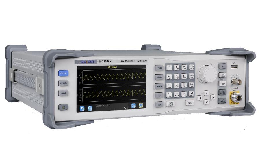 Generadores de RF SIGLENT SSG5000X